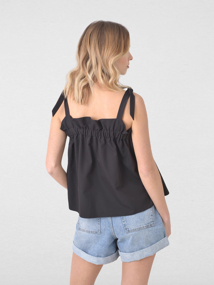 Gathered Neck Swing Cami