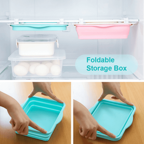 CollapsibleOrganizer™ - Collapsible Multifunctional, Pull-Out Storage Box - Thankify - Fun, Innovative, Practical Products