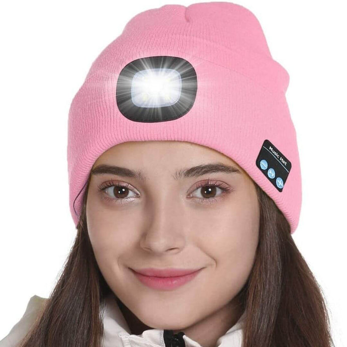 ConnectedCap™ - Fashionable, Unisex, Bluetooth 5.0 Connected Beanie Cap with LED Torch - Thankify - Fun, Innovative, Practical Products