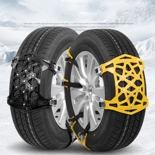 AllTerrainChain™ - All Terrain Safety Snow/Mud/Sand Anti-Skid Tire Traction Chains - Thankify - Fun, Innovative, Practical Products