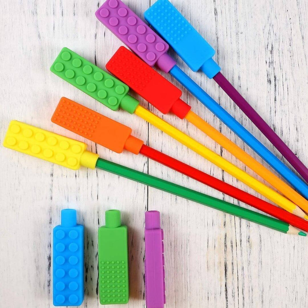 ChewieStix™ Pencil Topper Sensory Chewy Fidget Toys (6 packs) - Thankify - Fun, Innovative, Practical Products