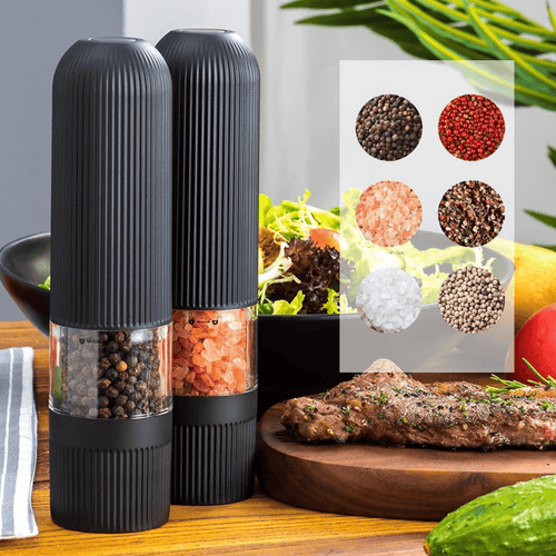 SmartGrinder™ - Battery-Operated Electric Salt Pepper Grinder with Adjustable Coarseness - Thankify - Fun, Innovative, Practical Products