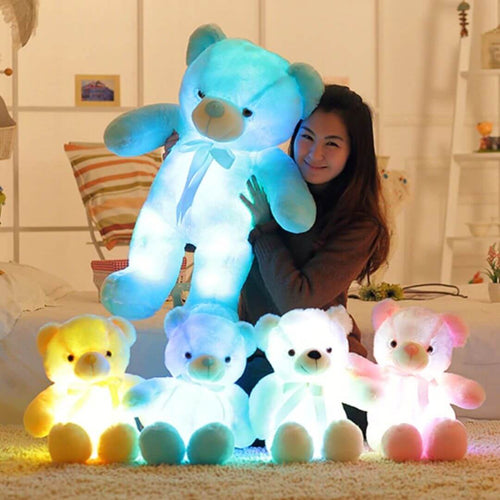 GlowingBear™ - Huggable Glowing Teddy Bear Plush Toy - Thankify - Fun, Innovative, Practical Products
