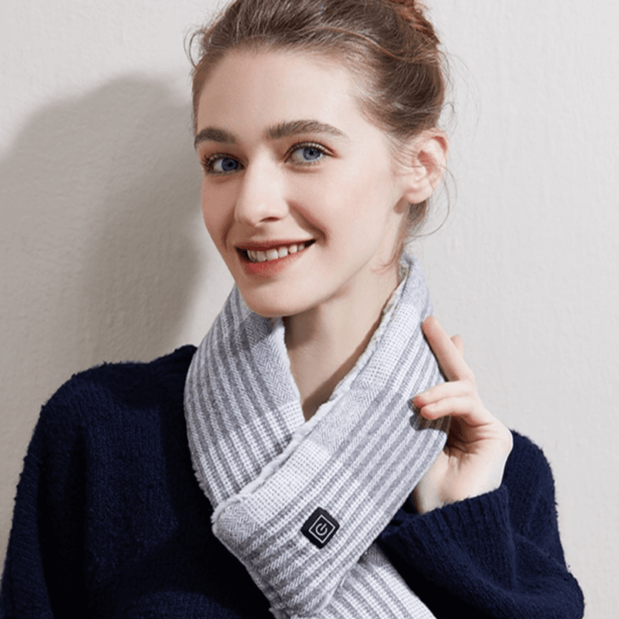 CozyWarmer™ - Washable, Unisex, Stylish Heated Scarf - Thankify - Fun, Innovative, Practical Products