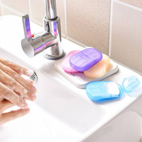 AlwaysClean™ - Portable Disinfectant Soap Paper - Thankify - Fun, Innovative, Practical Products