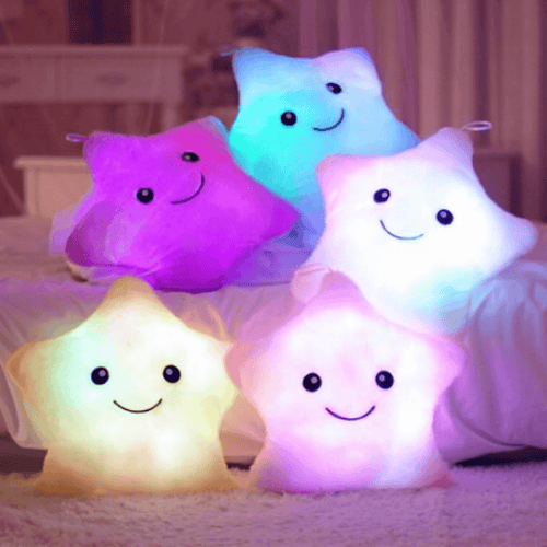GlowingSky™ - Huggable Glow-in-the-Dark Star/Crescent Plush Toy - Thankify - Fun, Innovative, Practical Products
