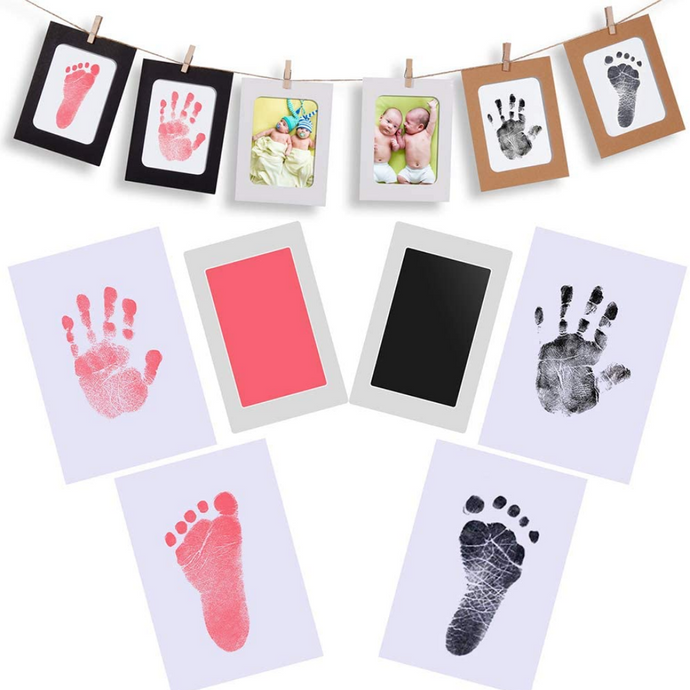 BabyMemories™ - Non-Toxic, Inkless Baby Handprint + Footprint Kit - Thankify - Fun, Innovative, Practical Products