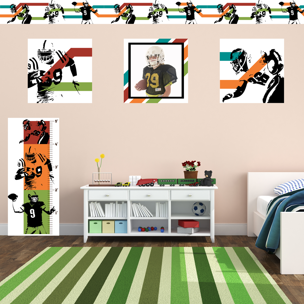 American Football Room Set