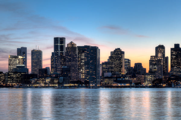 Beautiful Boston Skyline