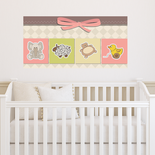 Baby Toys Room Rectangle