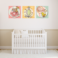 Baby Toys Room Squares
