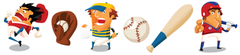 Batter Up Room Icons