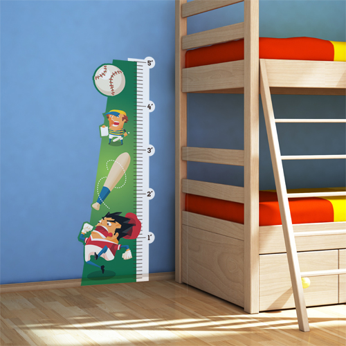 Batter Up Room Growth Chart