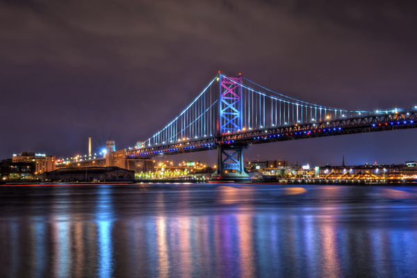 Philadelphia's Ben Franklin Bridge
