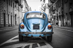 Old Blue Bug