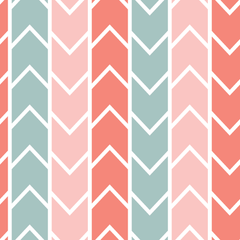 GREY AND PINK CHEVRON