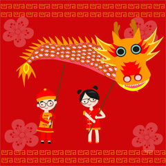 Chinese New Year Dragon