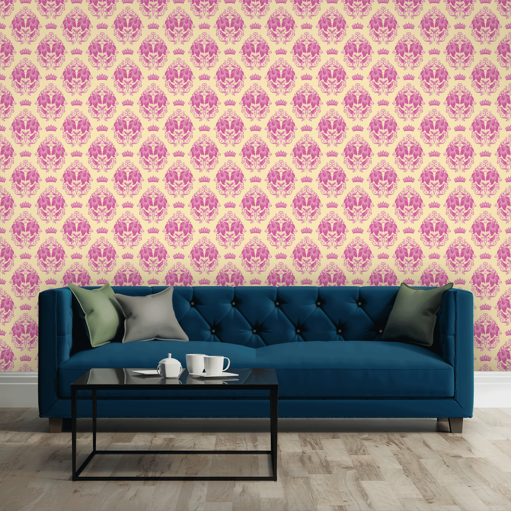 PINK ROYAL DAMASK