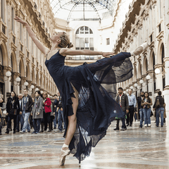 Classical Dancer in Milan