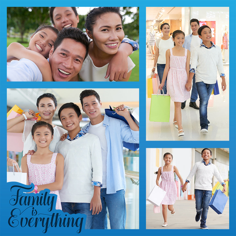 Family Is Everything | Blue