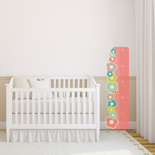 Fancy Flowers Room Growth Chart
