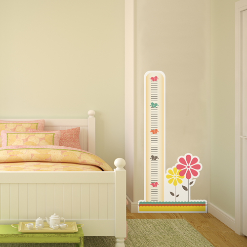 Retro Garden Room Growth Chart