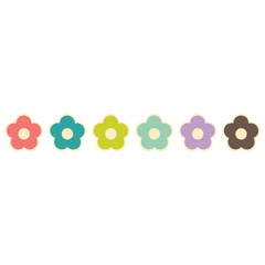 Fancy Flowers Room Icons