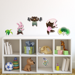 Fit Friends Room Icons