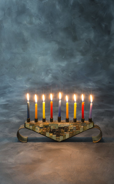 Hanukkah Candle Light