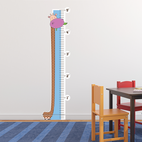 Jungle Buddies Room Growth Chart