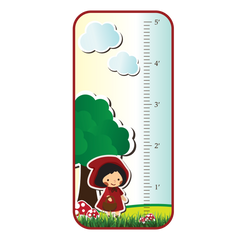 Little Red Riding Hood Room Growth Chart