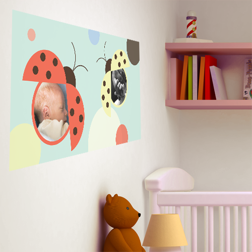 Lovely Lady Bugs Room Rectangle