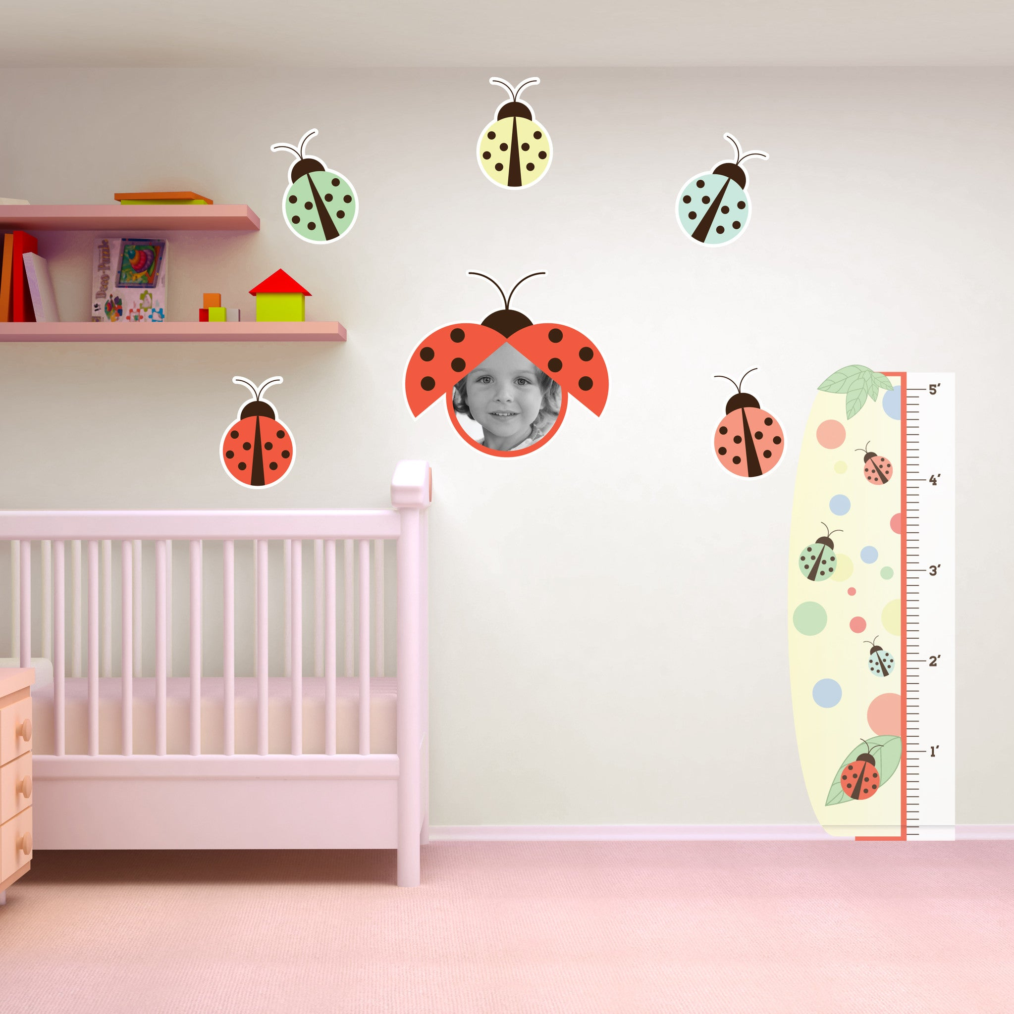 Lovely Lady Bugs Room Set