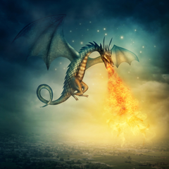 Fire-breathing Dragon