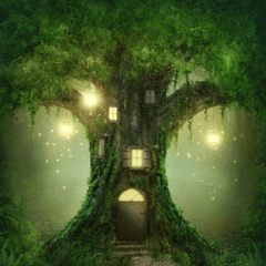 Fantasy Tree House