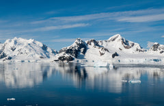 Paradise Bay in Antarctic