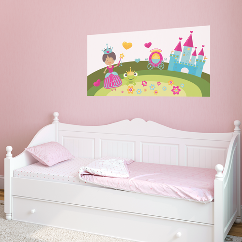 Pretty Princess (Blue) Room Rectangle