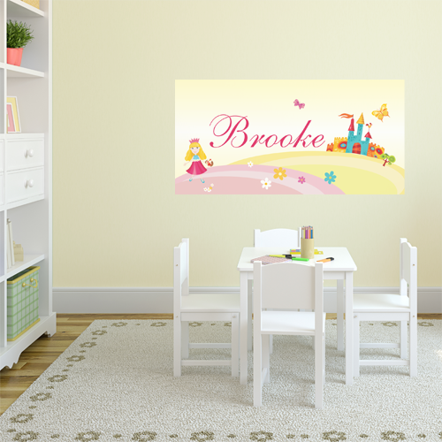Pretty Princess (Pink) Room Name