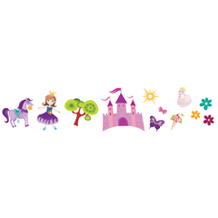 Pretty Princess (Purple) Room Icons