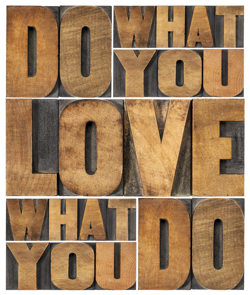 What you love (Wooden Love)