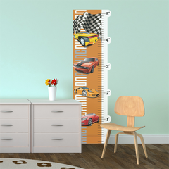 Racing Cars Room Growth Chart