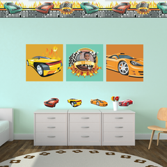Racing Cars Room Set