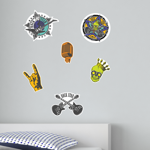 Rock Star Room Icons