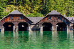 Dock House on the Lake