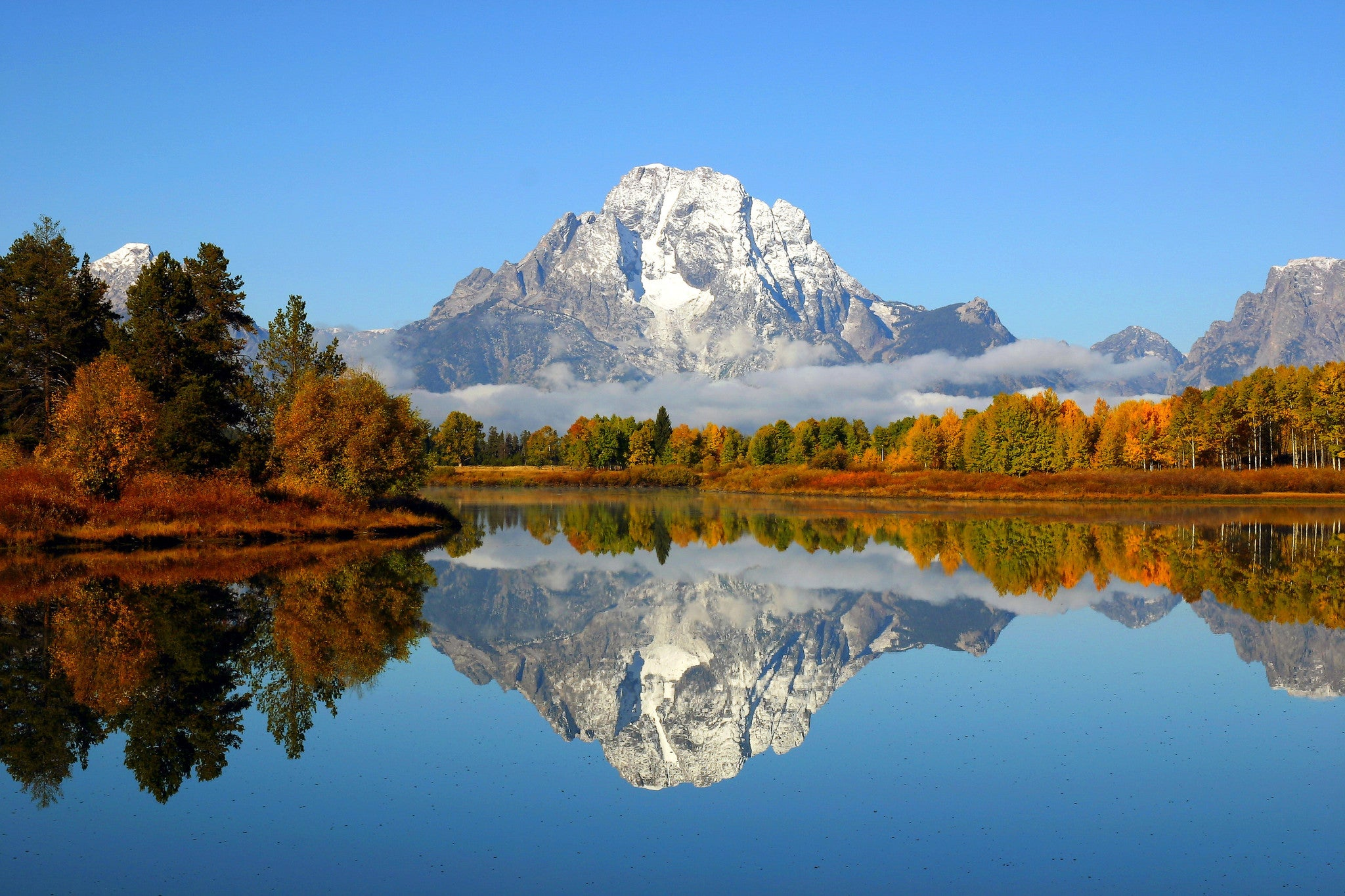 Fall in Grand Teton National Park