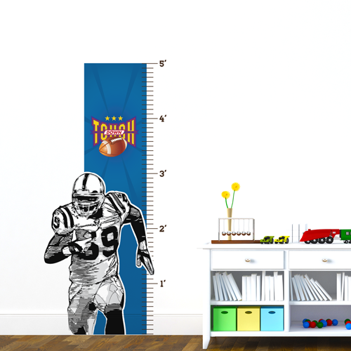 Touch Down Room Growth Chart