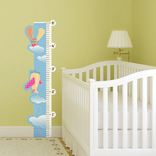 Up And Away Room Growth Chart