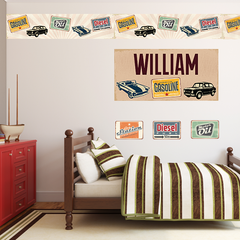 Car Rustic Room Set