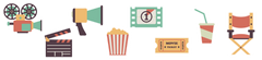 Cinema Room Icons