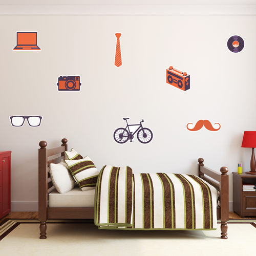 Hipster Room Icons